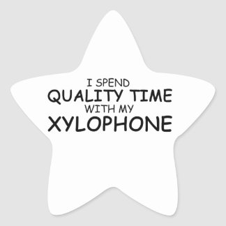 Quality Time Xylophone Star Sticker