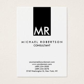 Quality Trendy Special Monogram Unique Business Card