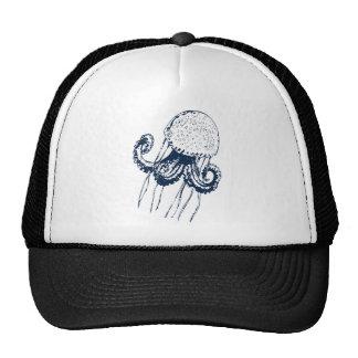 qualle jellyfish fish ocean meer gift geschenk trucker hat