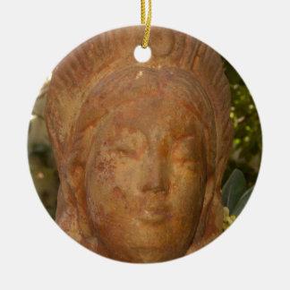Quan Yin Ceramic Ornament