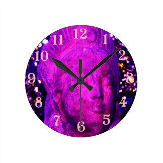 Quan Yin Round Clock