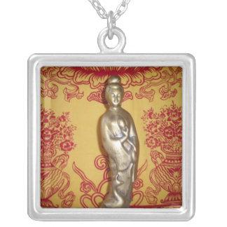 Quan Yin w Vases Necklace