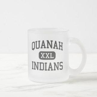 Quanah - Indians - High School - Quanah Texas Mug