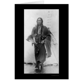 Quanah Parker, Comanche Indian Chief 1909 Card
