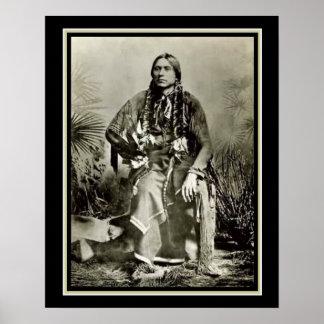 Quanah Parker- Last Comanche Chief 16 x 20 Poster