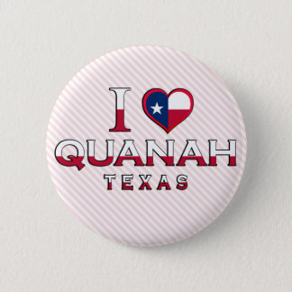 Quanah, Texas Pinback Button