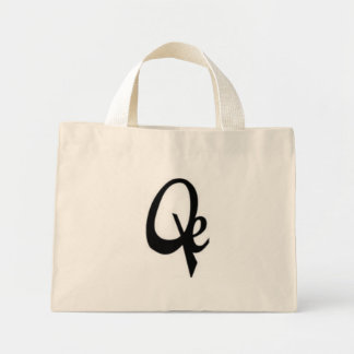 Quancheye Recordz Bagz Mini Tote Bag