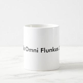Quando Omni Flunkus Moritati Taza Básica Blanca