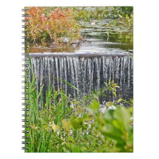 Quanopaug Waterfall Notebook