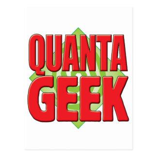 Quanta Geek v2 Postcard