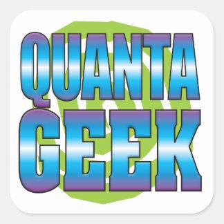 Quanta Geek v3 Square Sticker