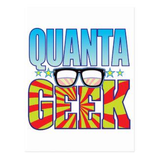 Quanta Geek v4 Postcard