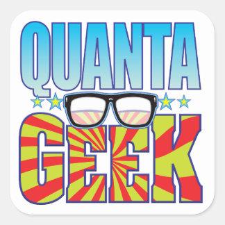 Quanta Geek v4 Square Sticker