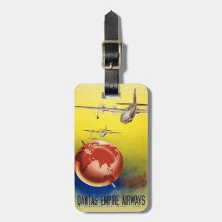 Quantas Empire Airways Luggage Tag