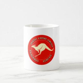 Quantas Empire Airways Classic White Coffee Mug