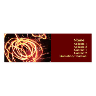 Quantum Double-Sided Mini Business Cards (Pack Of 20)