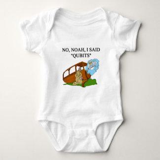 quantum computer joke baby bodysuit