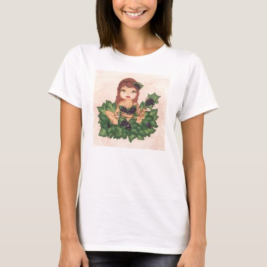 Quantum Cutie Grape Vine Girl T-Shirt