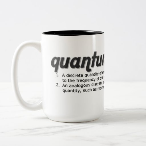 Quantum definition mug