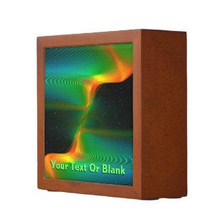 Quantum Entanglement Desk Organizer