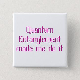 Quantum Entanglement Pinback Button