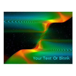 Quantum Entanglement Postcard