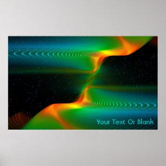 Quantum Entanglement Poster