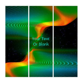 Quantum Entanglement Triptych