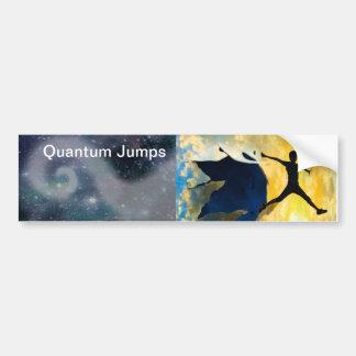 Quantum Jumps bumper sticker Car Bumper Sticker
