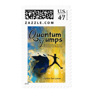 Quantum Jumps postage stamps