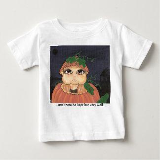 Quantum Kid in a Halloween Pumpkin Baby T-Shirt