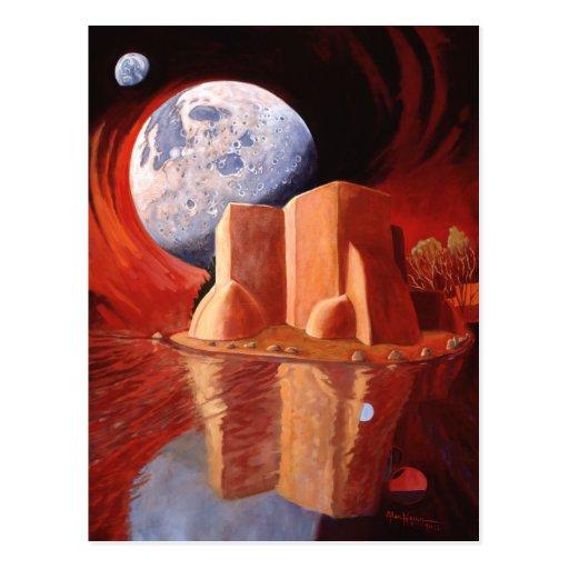 Quantum Leap by Alan Heuer Postcard