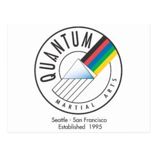 Quantum Logo Postcard