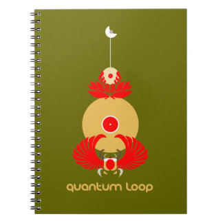 Quantum Loop DJ/Music book Notebooks