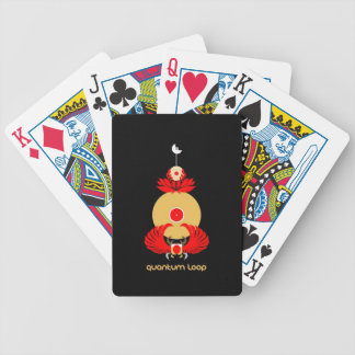 Quantum Loop Scarab DJ Playing Cards