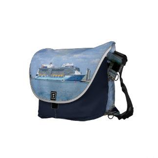 Quantum Maneuvers Canaveral Navy Courier Bag