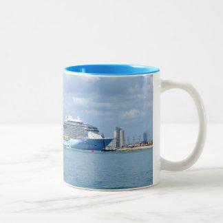 Quantum Maneuvers Canaveral Two-Tone Coffee Mug