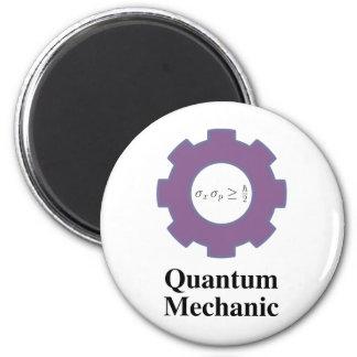 quantum mechanic 2 inch round magnet