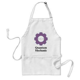 quantum mechanic adult apron