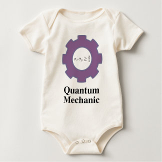 quantum mechanic baby bodysuit