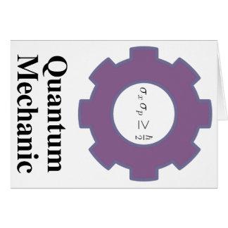 quantum mechanic card