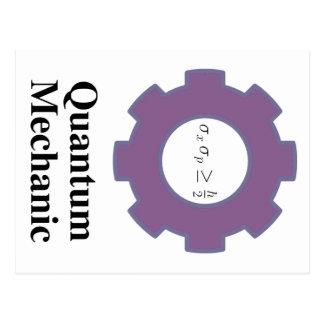 quantum mechanic postcard
