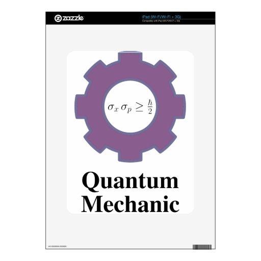 quantum mechanic decals for the iPad