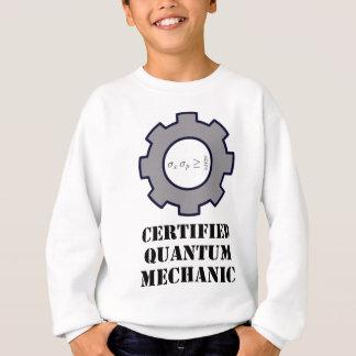 quantum mechanic, uncertainty principle sweatshirt