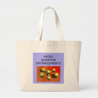QUANTUM mechanics Jumbo Tote Bag