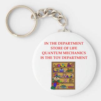 QUANTUM mechanics Key Chains