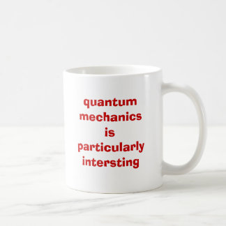 quantum mechanics mug