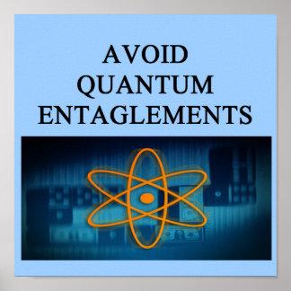 QUANTUM mechanics. Posters