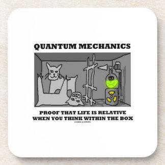 Quantum Mechanics Proof That Life Is Relative Drink Coaster