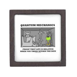 Quantum Mechanics Proof That Life Is Relative Gift Box